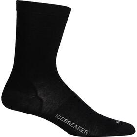 Icebreaker Lifestyle Cool Lite Crew Socks Dame black